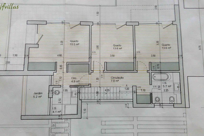 House Floor Plan - villa with pool and garden