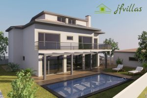 villa in ericeira with pool and duplex