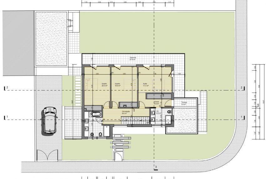 First Floor Building Plan